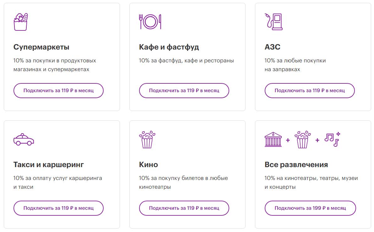 мегафон банк карта кэшбэк