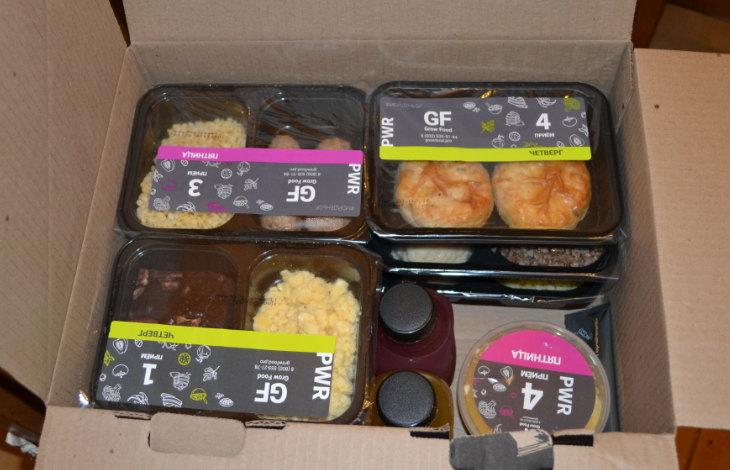 Гроу фуд доставка еды на неделю