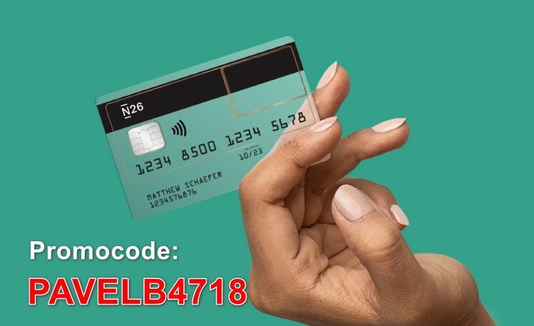 n26 bank promocode счет в иностранном банке
