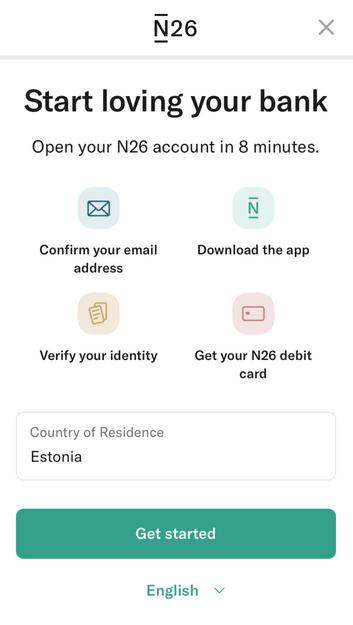 n26 страна для доставки карты